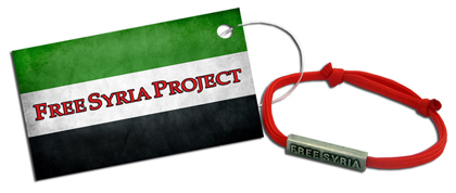 Free Syria Project Awareness Bracelet